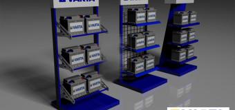 Заполнен раздел аккумуляторы VARTA для легковых авто
